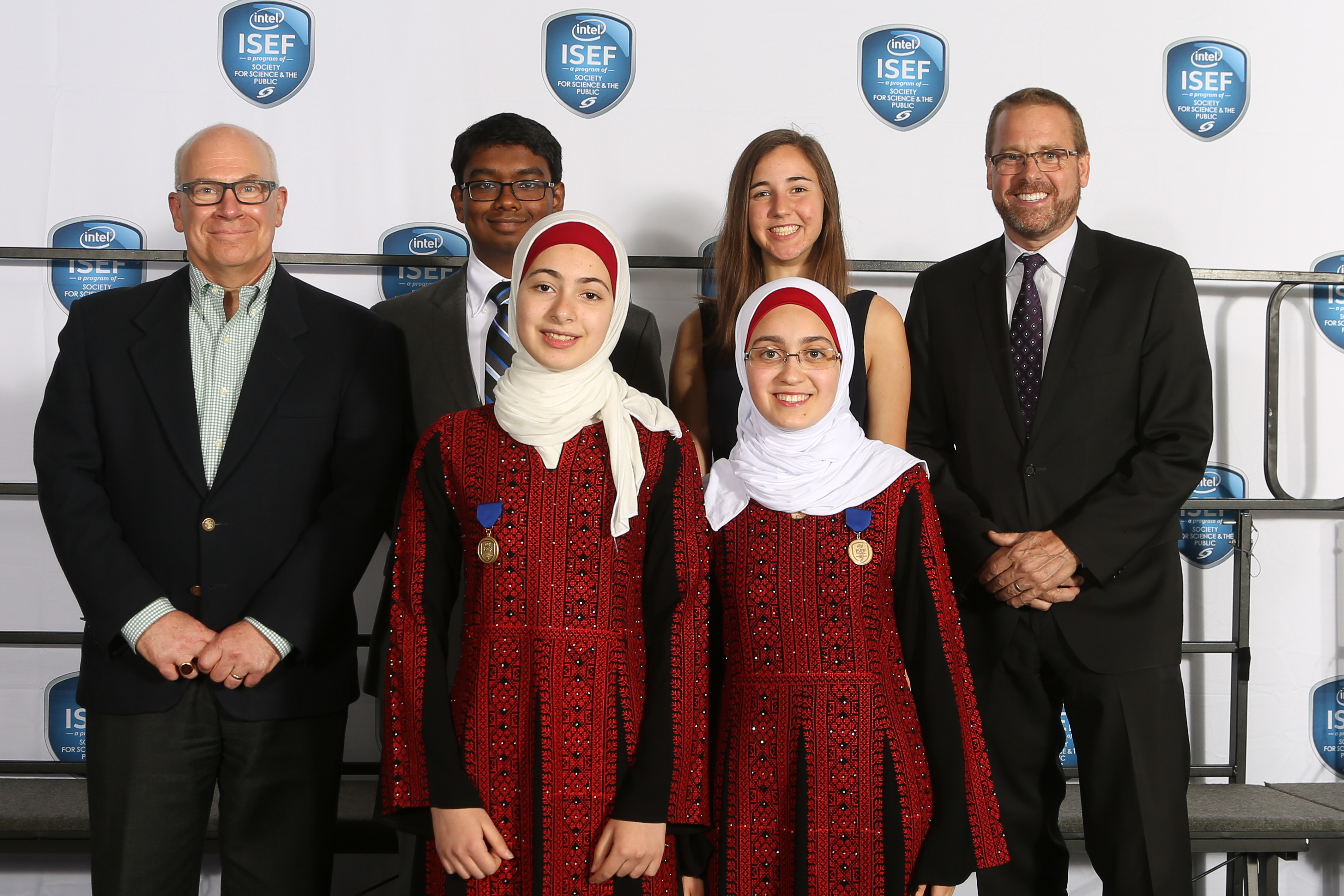 Intel ISEF 2017 DCAT Special Award Winners