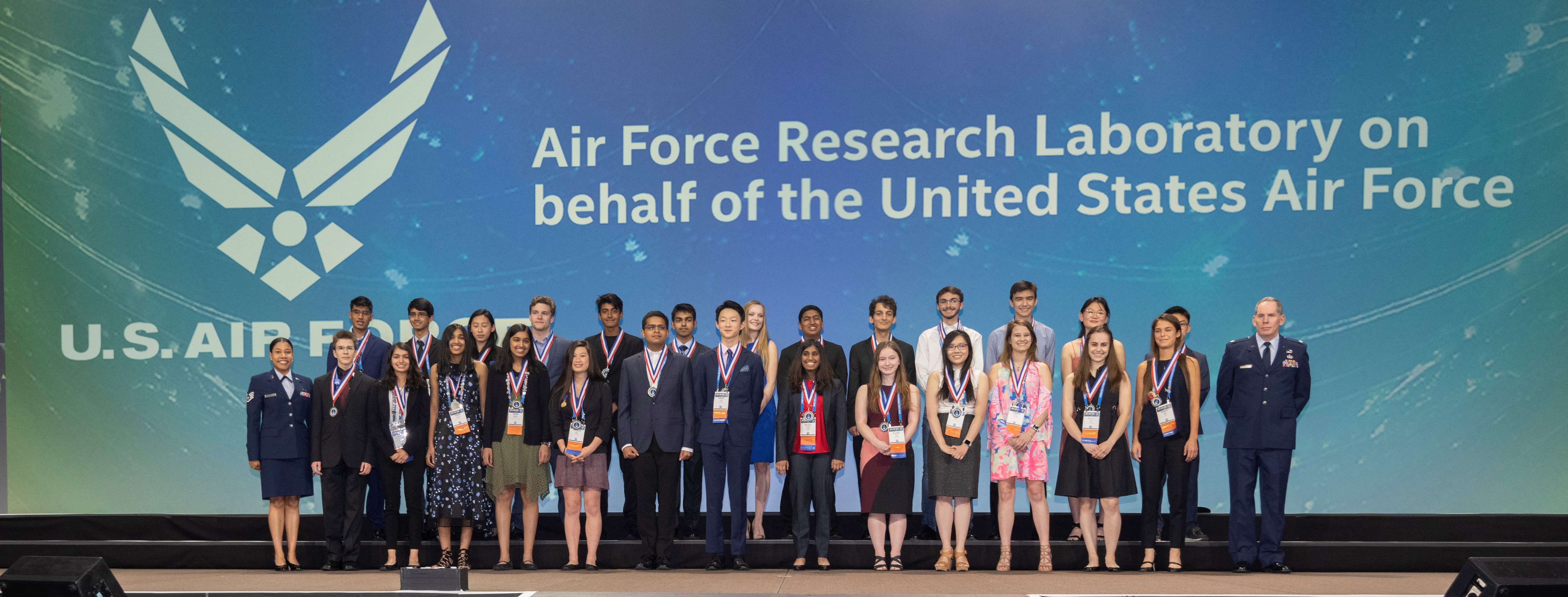 Intel ISEF 2019 USAF Special Award Winners